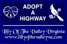 Adopt-A-Highway Ministry of Lilly Of The Valley VA